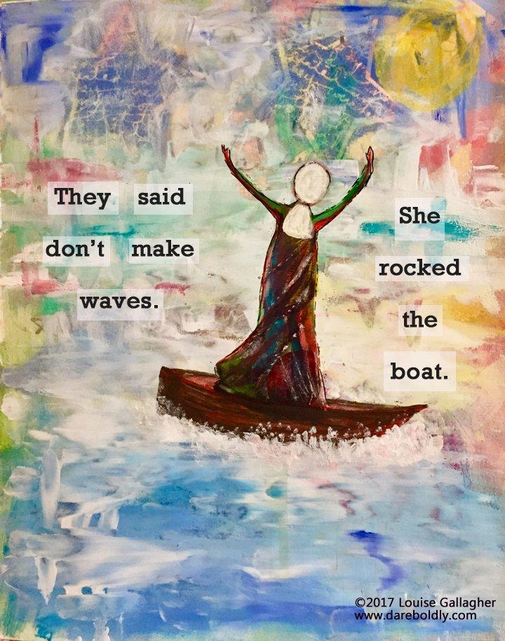 No. 5 rock the boat